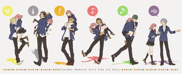 Image result for tokimeki memorial girl's side 3